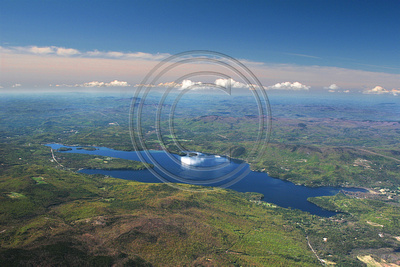 Newfound Lake aerial photo