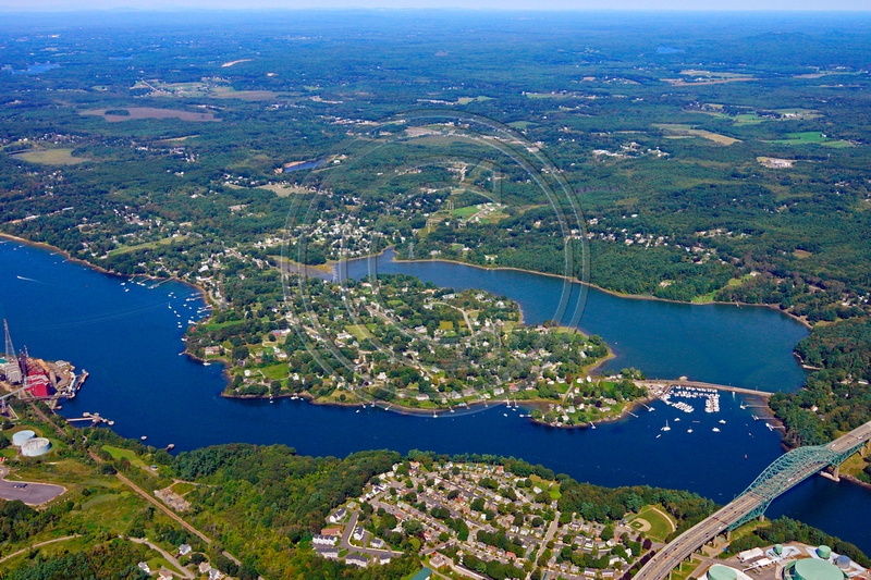 Aerial Photo Nh Portsmouth