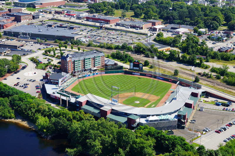 Aerial Photo NH | Manchester | Fisher Cats Stadium