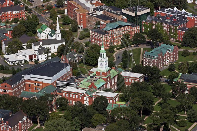 Dartmouth College Campus Aerial View
