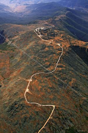 Mt Washington Auto Road >> Aerial Photo Nh Mount Washington Mt Washington Auto Road