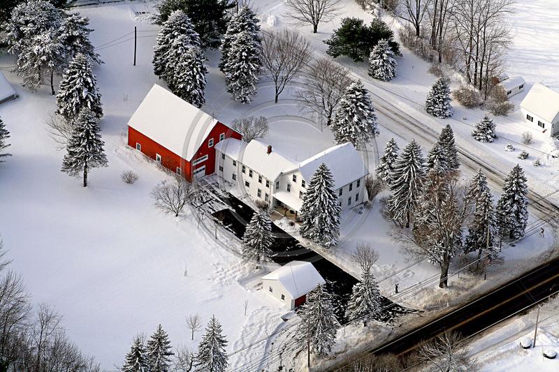 Aerial Photo Nh Wolfeboro